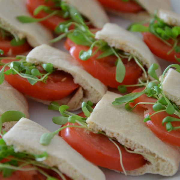 Tomaten Mozzarella Sandwich von Tafellos